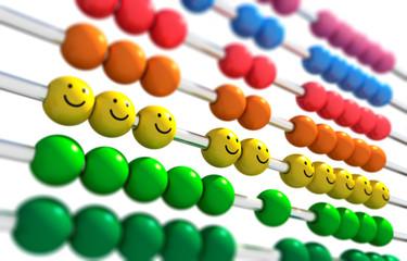 Abacus mit Smileys 2