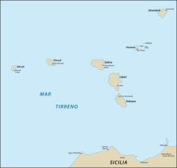 Liparischen Inseln, Äolischen Inseln