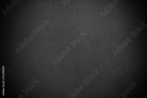 canvas print picture Black leather