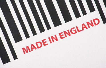 Made in England Barcode