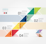 Fototapety Modern Design Minimal style infographic template / can be used f