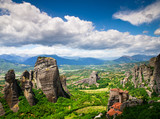 rock in Meteora, Greece