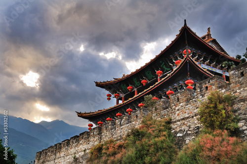 South Gate, Dali Ancient City, Yunnan Province, China