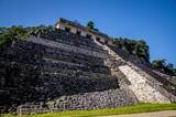 temple de palenque 3 contre plongée