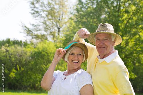 senioren im sommer
