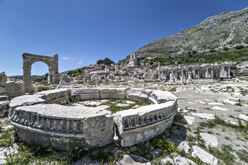 Ruins of Sagalassos in Isparta, Turkey