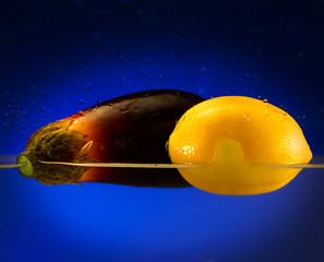 limone e melanzana