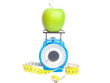 Green apple weight concept