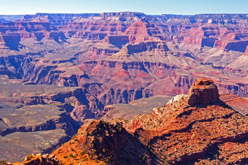 Canyon Panorama in the Spring