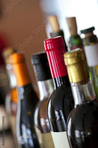 Bouteille, vin, foire aux vins, dégustation œnologie, alcool