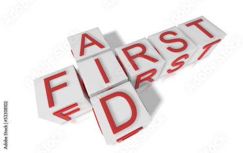 first aid blocks
