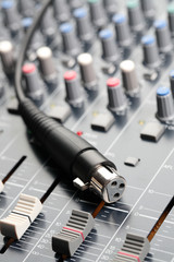 Sound Mixer and Cable