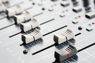 Sound Board Sliders