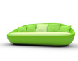 Bright Green Sofa