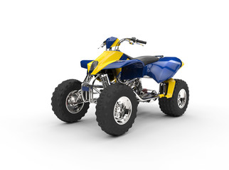 Blue Yellow Quad