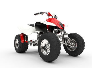 Red Quad Front View