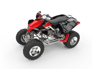 Black Red Quad