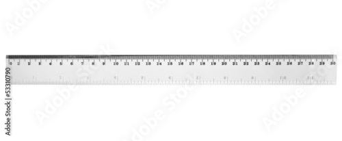 a transparent ruler