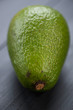 Close-up of ripe avocado, vertical shot