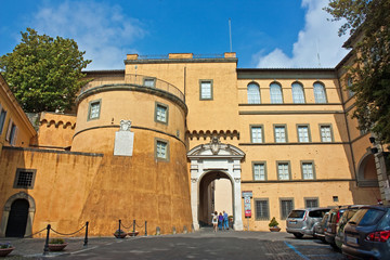 Castel Gandolfo, la porta d'ingresso - Lazio - Italy