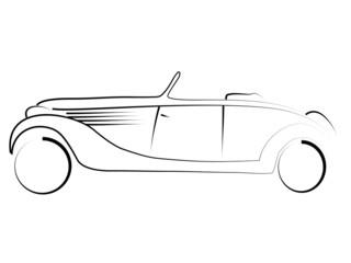 tribal Oldtimer Cabrio