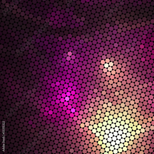 Light mosaic background in vector