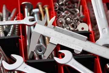 Sortimentskasten mit Werkzeug