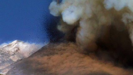 paroxysm of Etna