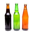 Three bottles of beer