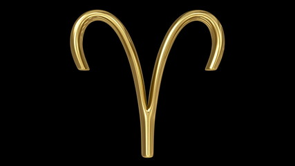 Horoscope:  golden spinning sign of the zodiac – Aries