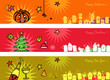 banners for Halloween,Christmas,New Year