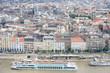 Budapest Danube river Houses