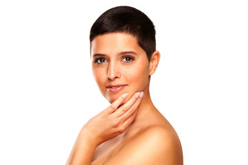 Natural Beauty - Woman With Short Hair