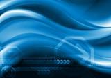 Dark blue abstract background