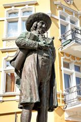 Linnenbauerdenkmal in Herford, Deutschland