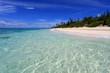 南国沖縄 透明な波の水納島