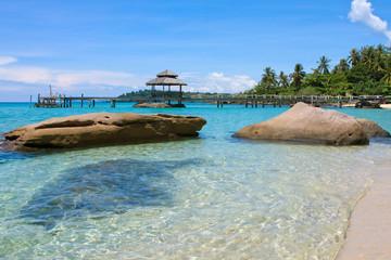 Beautiful tropical beach , Thailand