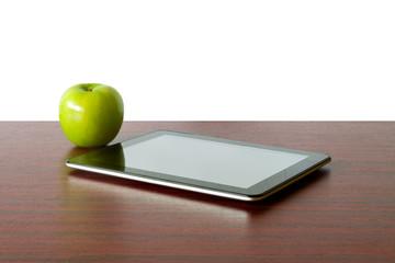 Digital tablet and apple