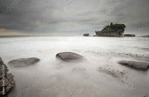 Tanah lot temple, Bali - long exposure