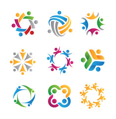 social icons and logos