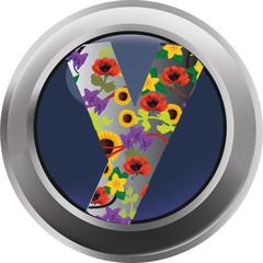 bottone fiori