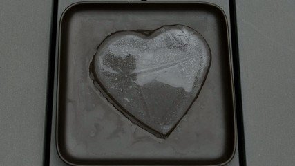 melting ice heart