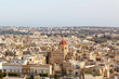 View of Victoria, Gozo, Malta islands