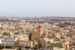View of Victoria, Gozo, Malta islands