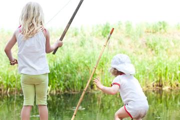 Schwestern angeln