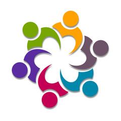 Cooperation Icone Design