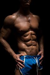 beautiful male body