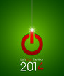 christmas ball power button 2014