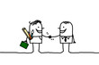artist handshake