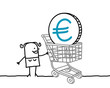 woman & euro